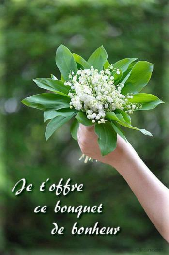 1 bouquet muguet