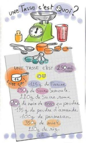 1 tasse