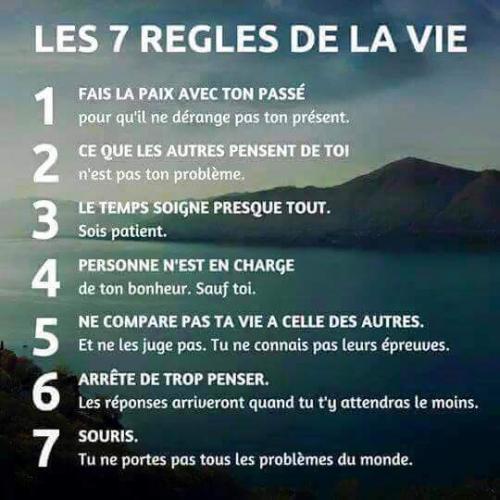 7 regles