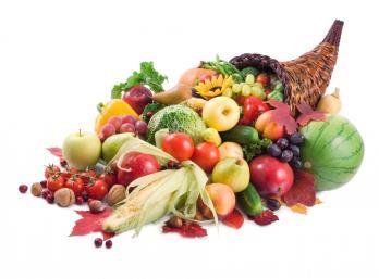 Abondance druits legumes