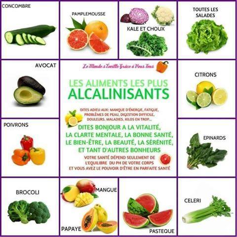 Aliments alcalinisants