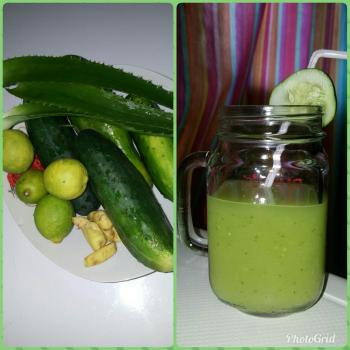 Aloe green smoothie