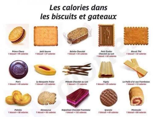 Calories biscuits
