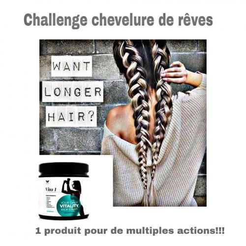 Challenge chevelure