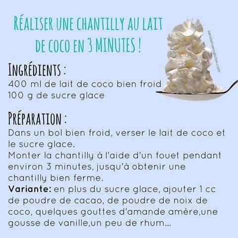 Chantilly coco