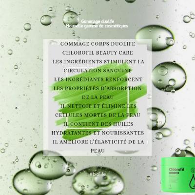 Chlorofil gommage