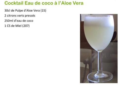 Cocktail eau de coco