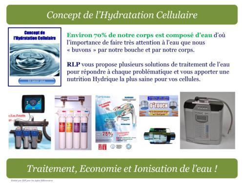 Concept hydratation cellulaire