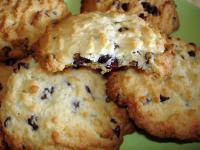 Cookies noix coco et aux pepites chocolat