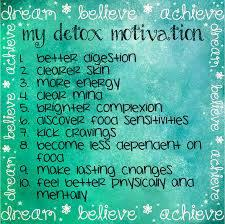 Detox motivation anglais
