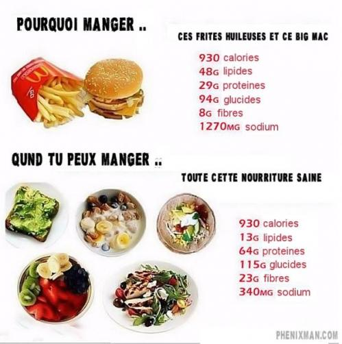Difference bonnes calories mauvaises calories l o eyey