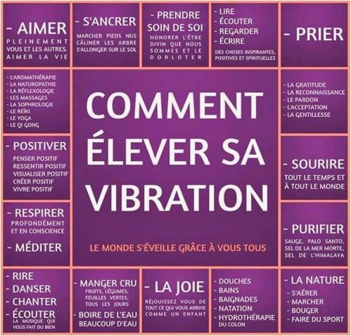 Elever sa vibration