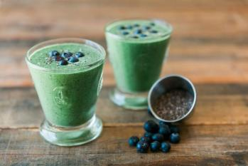 Equivalent smoothies green