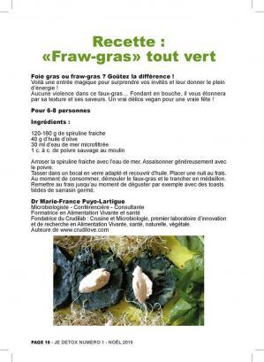 Faw gras spiruline 1