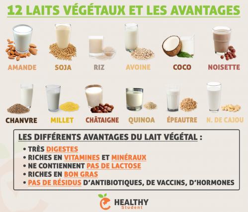 Laits vegetaux 1