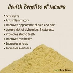 Lucuma benefits