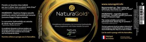 Naturagold ingredients