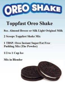 Oreo shake