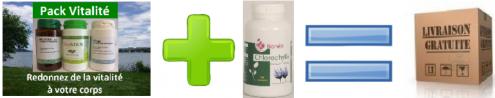 Pack vitalite chlorophylle