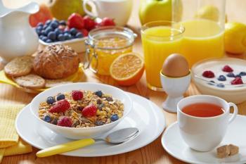 Petit dejeuner regime equilibree