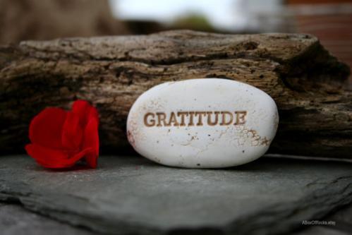 Pierre de gratitude 1