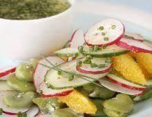 Salade de feves