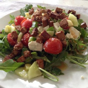 Salade tofu feta