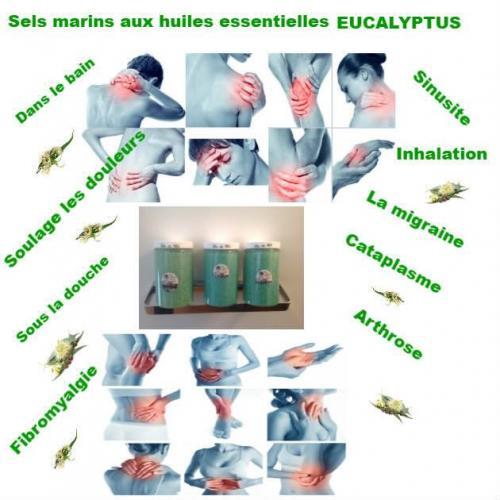 Sels marin eucalyptus