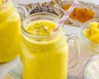 Smoothie ananas mangue