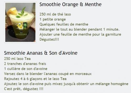 Smoothie orange 1