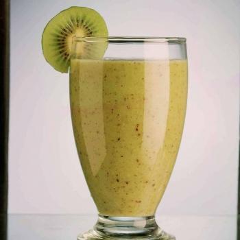 Smoothie peche kiwi