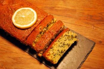 Spiruline cake citron