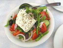 Spiruline salade grecque