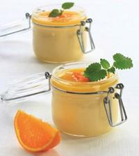 Sukrin mousse orange