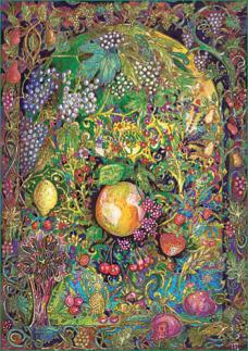 Tableau fruits silence