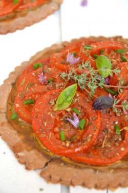 Tarte tomate vege