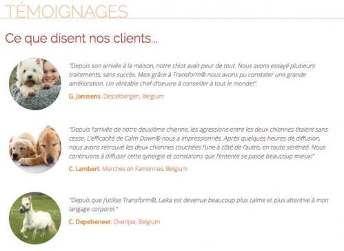 Temoignages clients