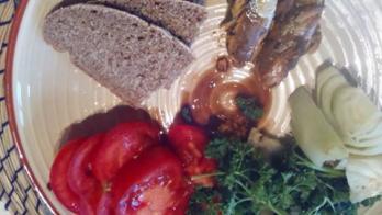 Toast sardines