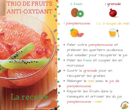 Trio fruits frais