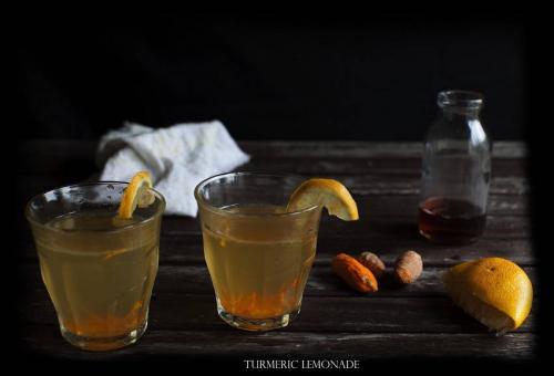 Turmeric lemonade 1