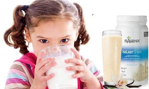 Isalean shake pour enfants